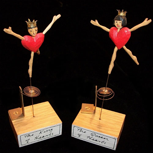 The King and Queen of Hearts by 14 Balls Toy Co.