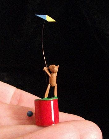 Bear with kite