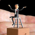 Miniature Magic Automata Fechner's Levitation