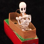 Skeleton in Coffin