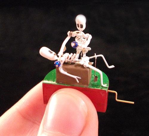 Xylophone Skeleton