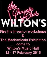 Mechanicals at Wilton's