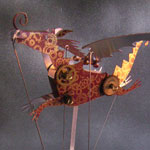 Steampunk Dragon by Keith Newstead