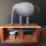 An Elephant Thinking of Inventing the Wheel