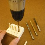 Test to find the drill bit that creates the best friction fit for the dowels