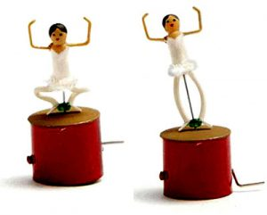 Miniature Ballet Dancer Automata