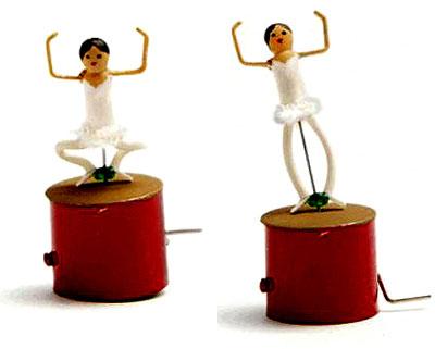 Miniature Ballet Dancer Automata