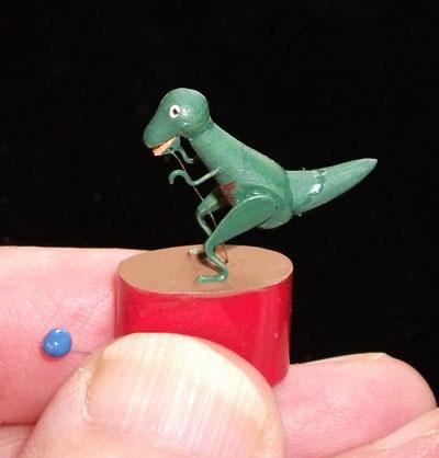 Miniature Dinosaur Automata