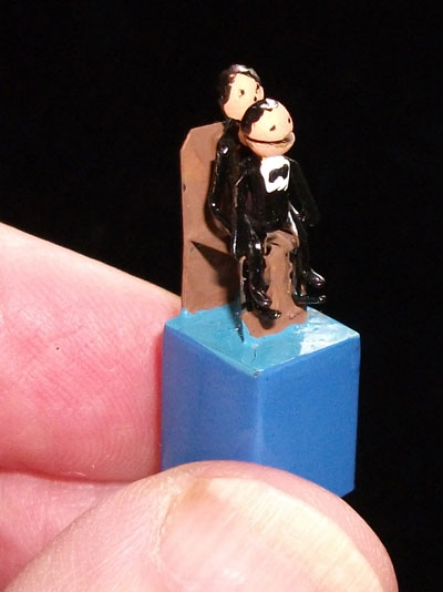 Miniature Ventriloquist Automata