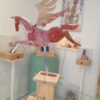 Red and Gold Pegasus by Keith Newstead