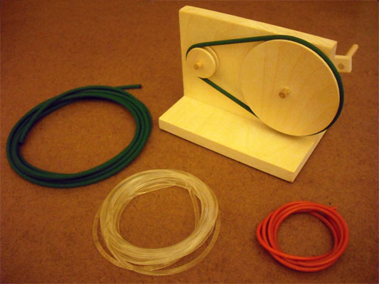 Making Urethane Belts For Automaton Projects Dug S Tips