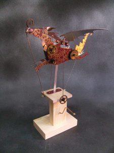 Steampunk Dragon by Keith Newstead