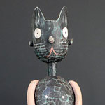 The Many Moods of the Cat-Fetish by Paul Spooner