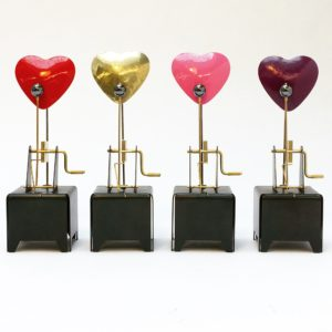 4 mechanical hearts