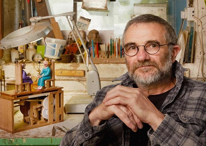 Paul Spooner in his workshop